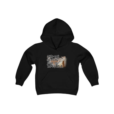 NOTHING shall Impossible Youth Heavy Blend Hooded Sweatshirt