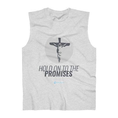 Hold On To The Promises Men's Ultra Cotton Sleeveless Tank