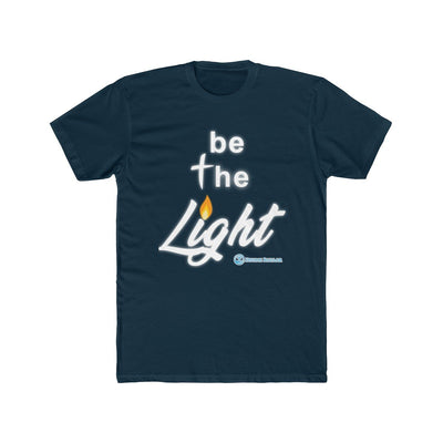 Men's Cotton Crew Tee - Be The Light