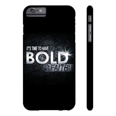 Case Mate Slim Phone Cases - Bold faith