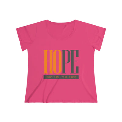 Hope for All Women's Curvy Tee