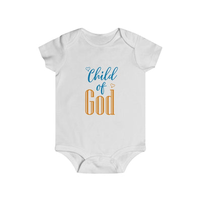 Child Of God Infant Rip Snap Tee