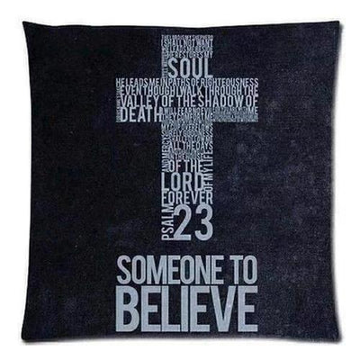 Christian Bible Verse Pillow Cover - The Divine Bazaar