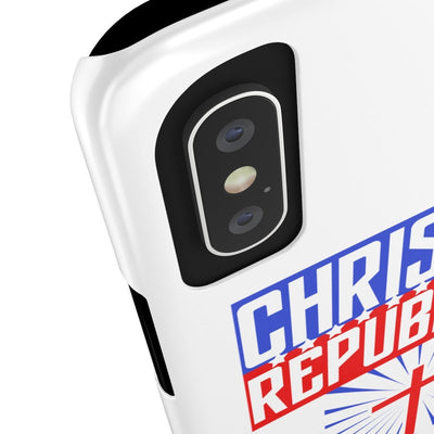 Christian Republican Case Mate Slim Phone Cases