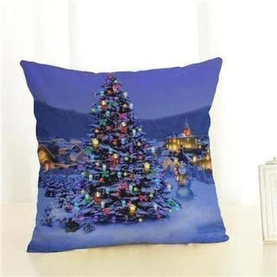 Christmas Tree Pillow Cover - The Divine Bazaar