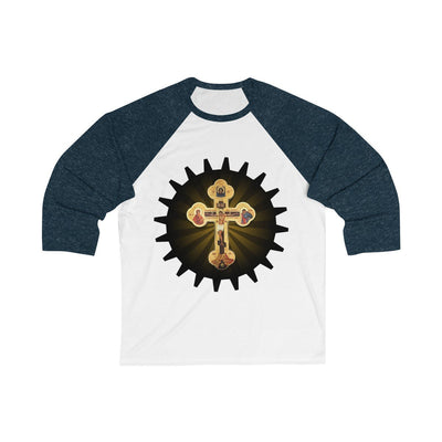 Cross Gear 3/4 Sleeve Baseball Tee