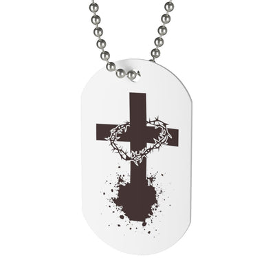 CrossCrown Dog Tag