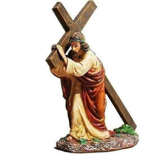 Crucifix Jesus Statue Figurine Dashboard - The Divine Bazaar