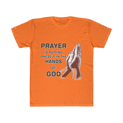 Prayer Hands Of God Unisex Fitted Tee