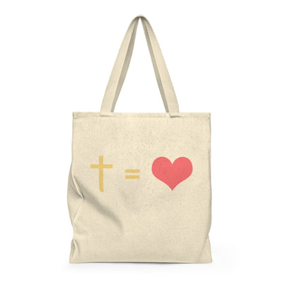 Cross Equals Love Shoulder Bag