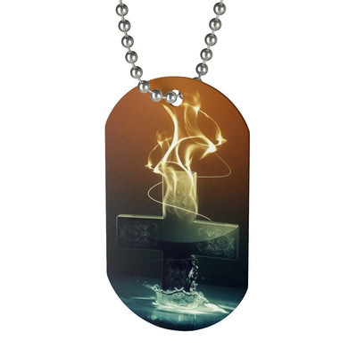 Cross Fire Dog Tag