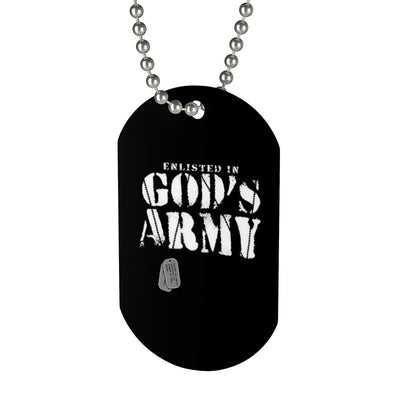 Dog Tag - Gods Army