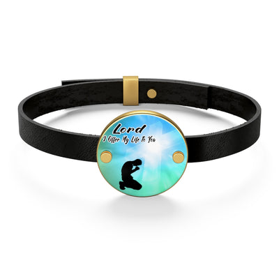 God I Offer My Life To You Bracelet