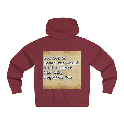 For God So Loved the World Men's Sweatshirt