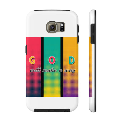 God Will Make A Way Abstract Case Mate Tough Phone Cases