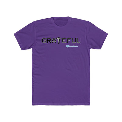 Men's Cotton Crew Tee - Grateful