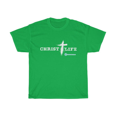 Unisex Heavy Cotton Tee - Christ Life
