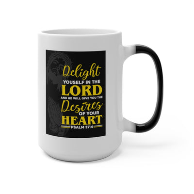 Jesus is Lord Forever Combination Color Changing Mug