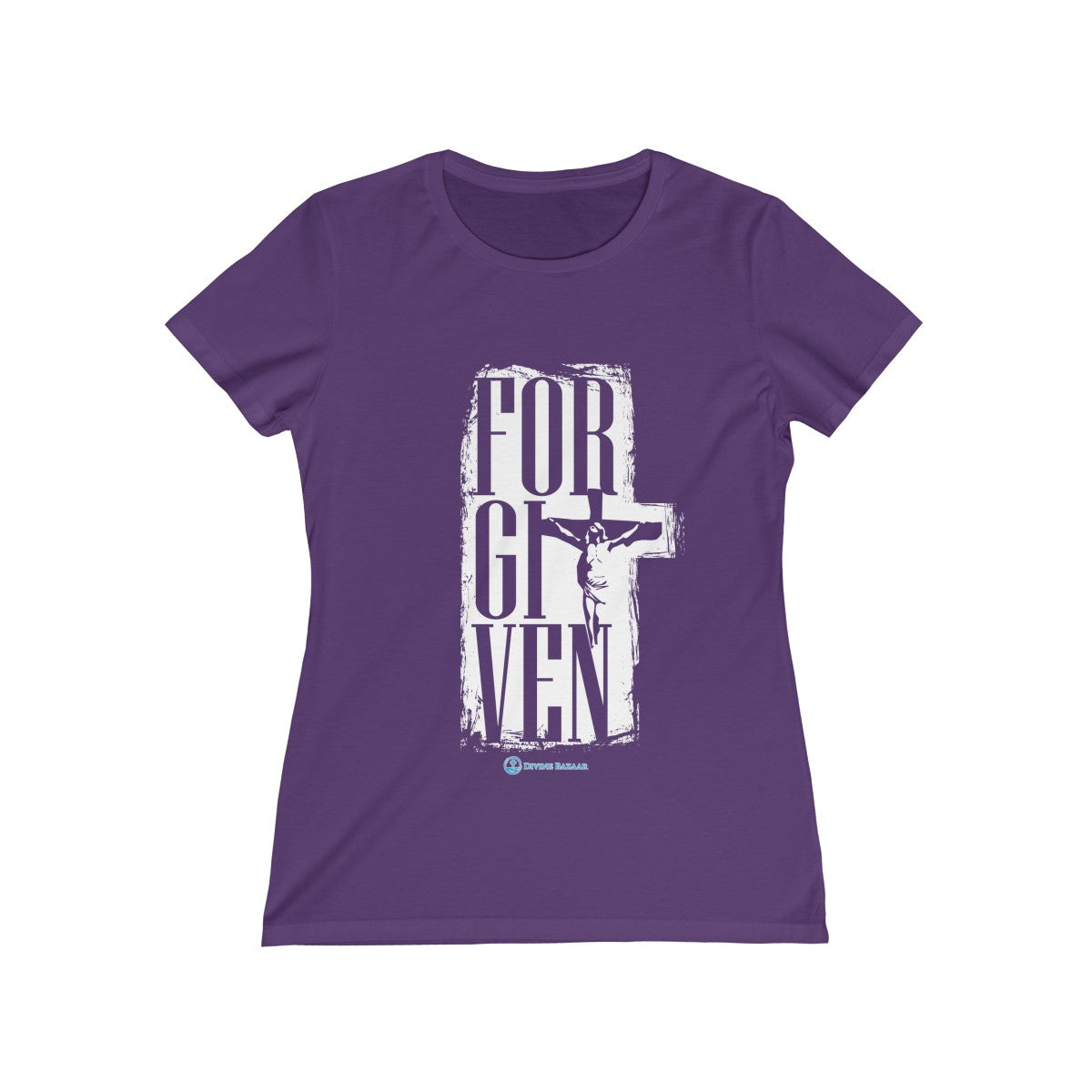 Always Forgiven Women's Missy Tee