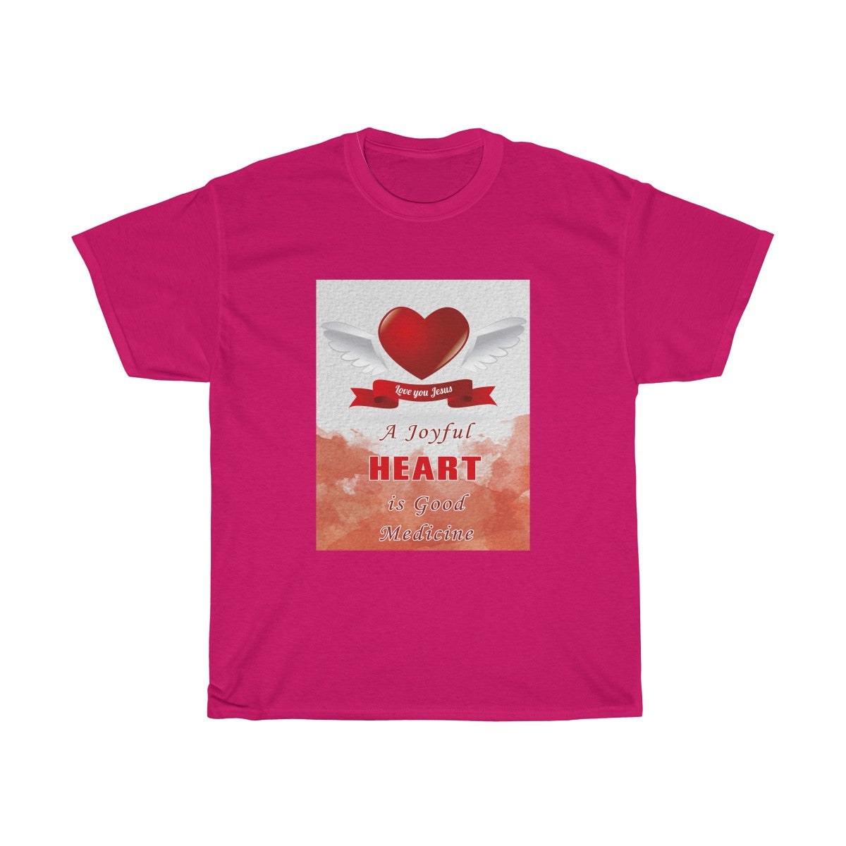 A Joyful Heart Unisex Heavy Cotton Tee