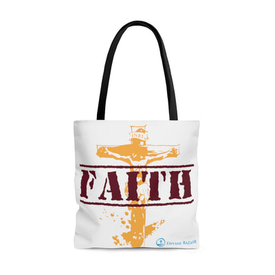 HAVE FAITH AOP Tote Bag