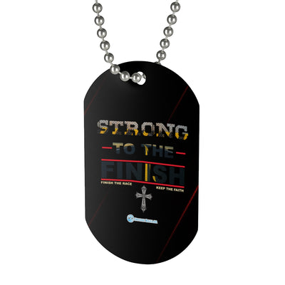 Dog Tag - Strong To The Finish