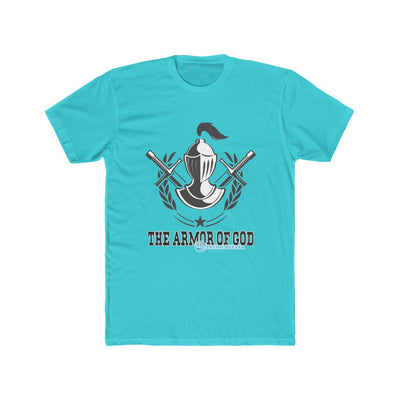 Men's Cotton Crew Tee - The Armor of God