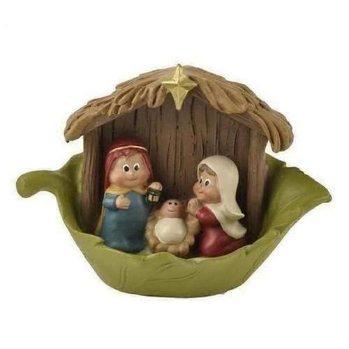 European Christmas Jesus Mini Religious Holy Family - The Divine Bazaar