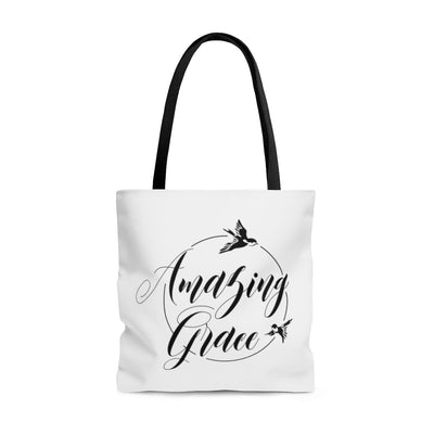 Amazing Grace AOP Tote Bag