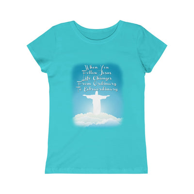 From Ordinary to Extraordinary Girls Princess Tee