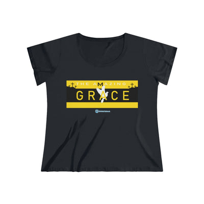 AMAZING GRACE Women's Curvy Tee