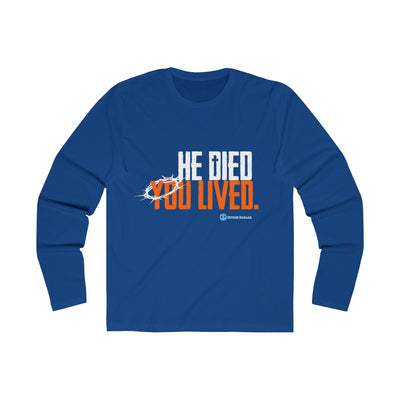 He Died You Lived Men's  Tee