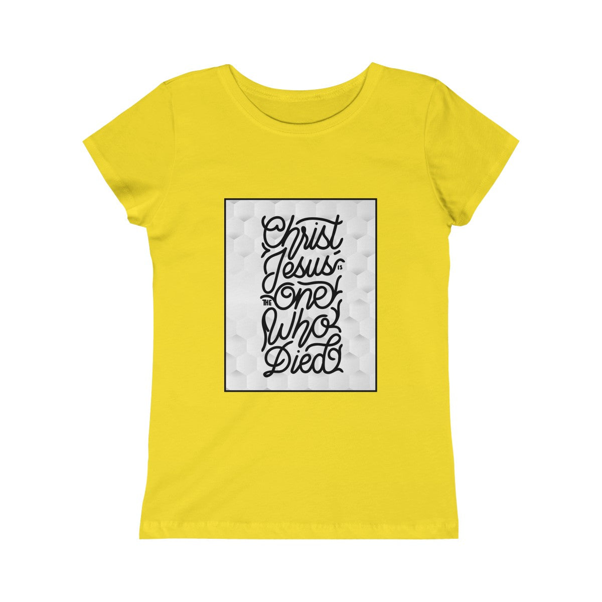 One Who Died Girls Princess Tee
