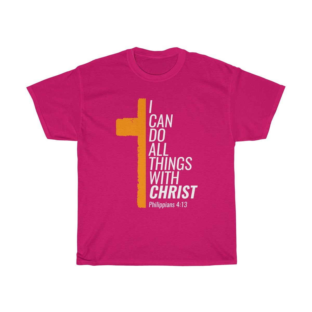 All Things With Christ Unisex Heavy Cotton Tee