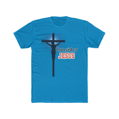 Men's Cotton Crew Tee - Consider Jesus