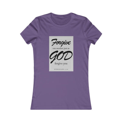 Forgive God Women's Favorite Tee