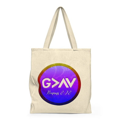 God is Greater than Highs and Lows (Shoulder Tote Bag - Roomy)