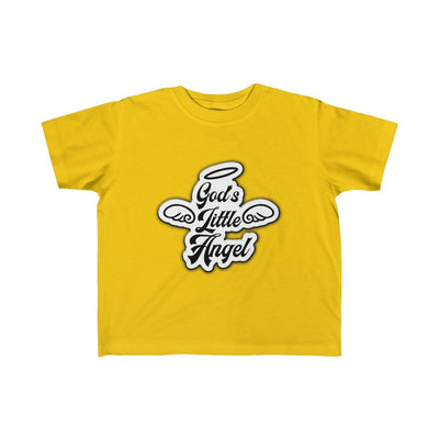God's Little Angel (Kid's Fine Jersey Tee)