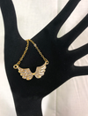 Gold Angel Wing Diamond Necklace - The Divine Bazaar
