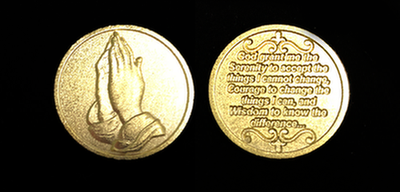 Serenity Prayer Token