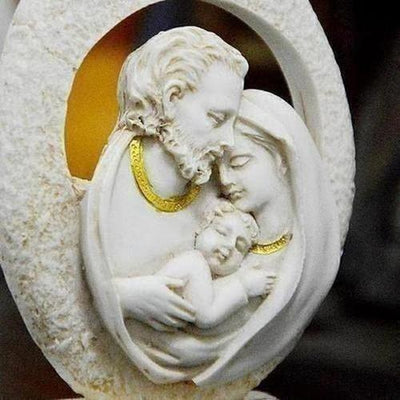 Holy Family Of Three Small Ornament - The Divine Bazaar