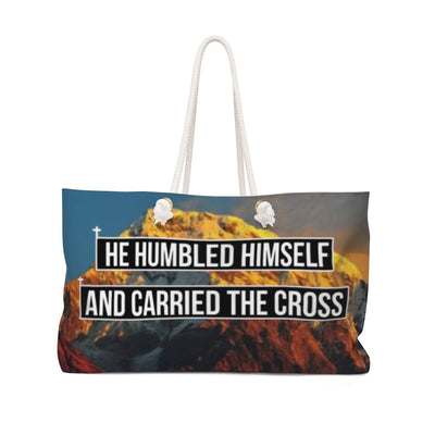 Humble & Carried the Cross Weekender Bag