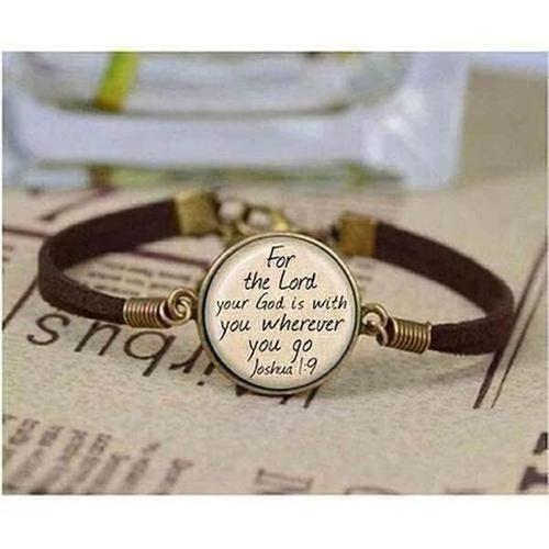I love Christian Inspirational Jesus bracelet Faith Bible - The Divine Bazaar