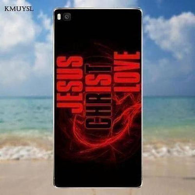 I Love You Jesus TPU Protector Cases For Huawei - The Divine Bazaar
