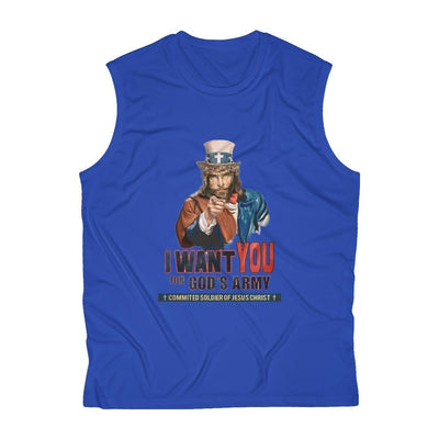 """I Want you in God's Army"" Sleeveless top"