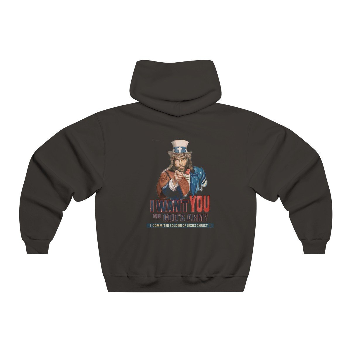 """I Want you in God's Army"" Sweatshirt"