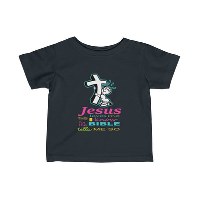 Infant Fine Jersey Tee- Christmas