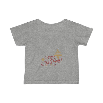 Infant Fine Jersey Tee-Christmas2