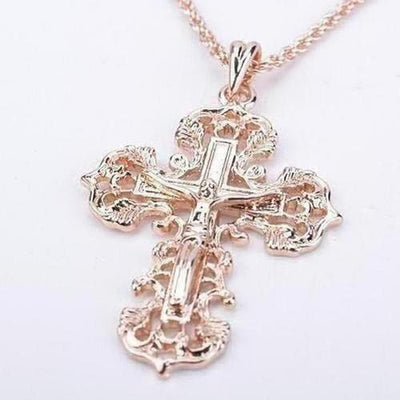 Jesus Cross Necklace Pendants - The Divine Bazaar