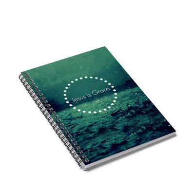 JesusGrace Notebook - Ruled Line